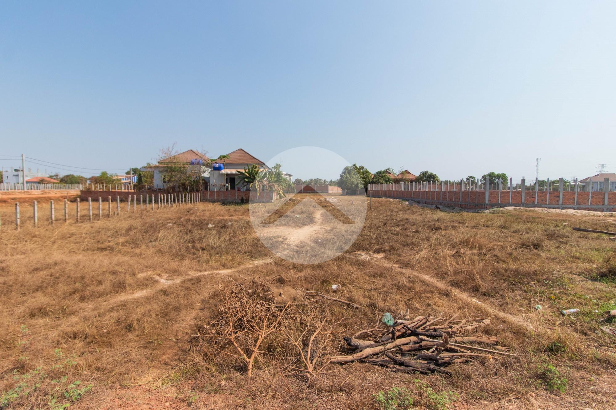 687 Sqm Residential Land For Sale - Chreav, Siem Reap