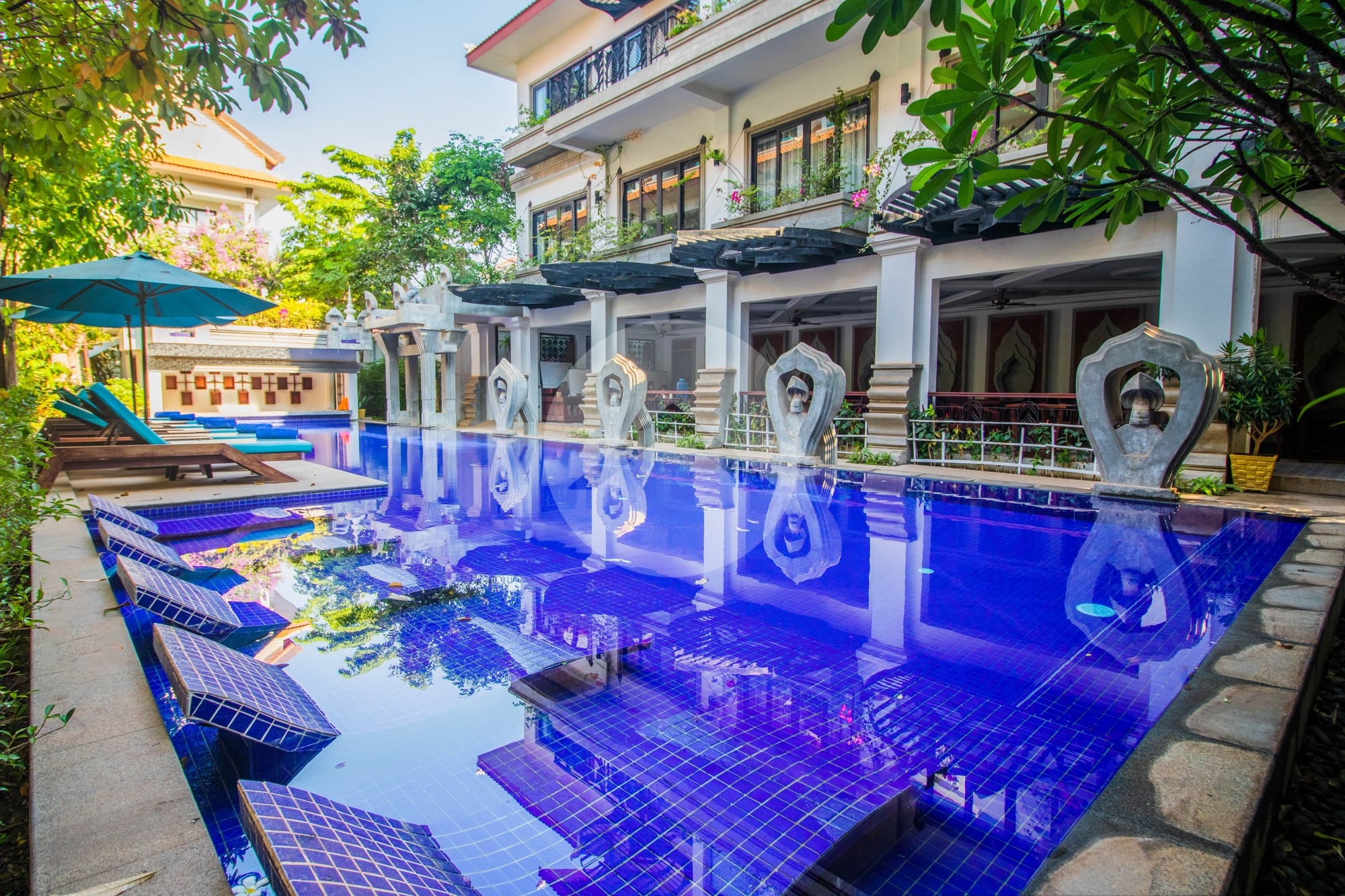 3 Bed Serviced Studio Apartment For Rent - Svay Dangkum, Siem Reap