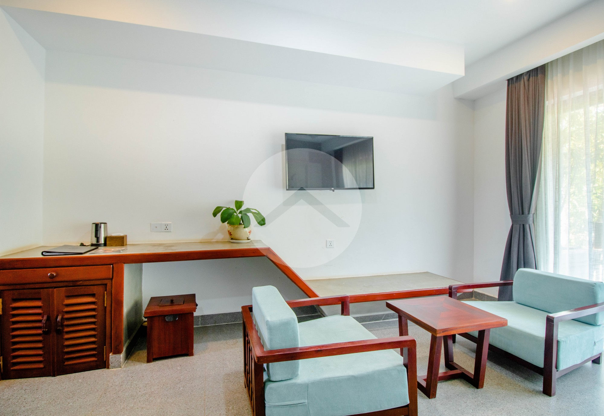 1 Bed Serviced Apartment For Rent - Svay Dangkum, Siem Reap