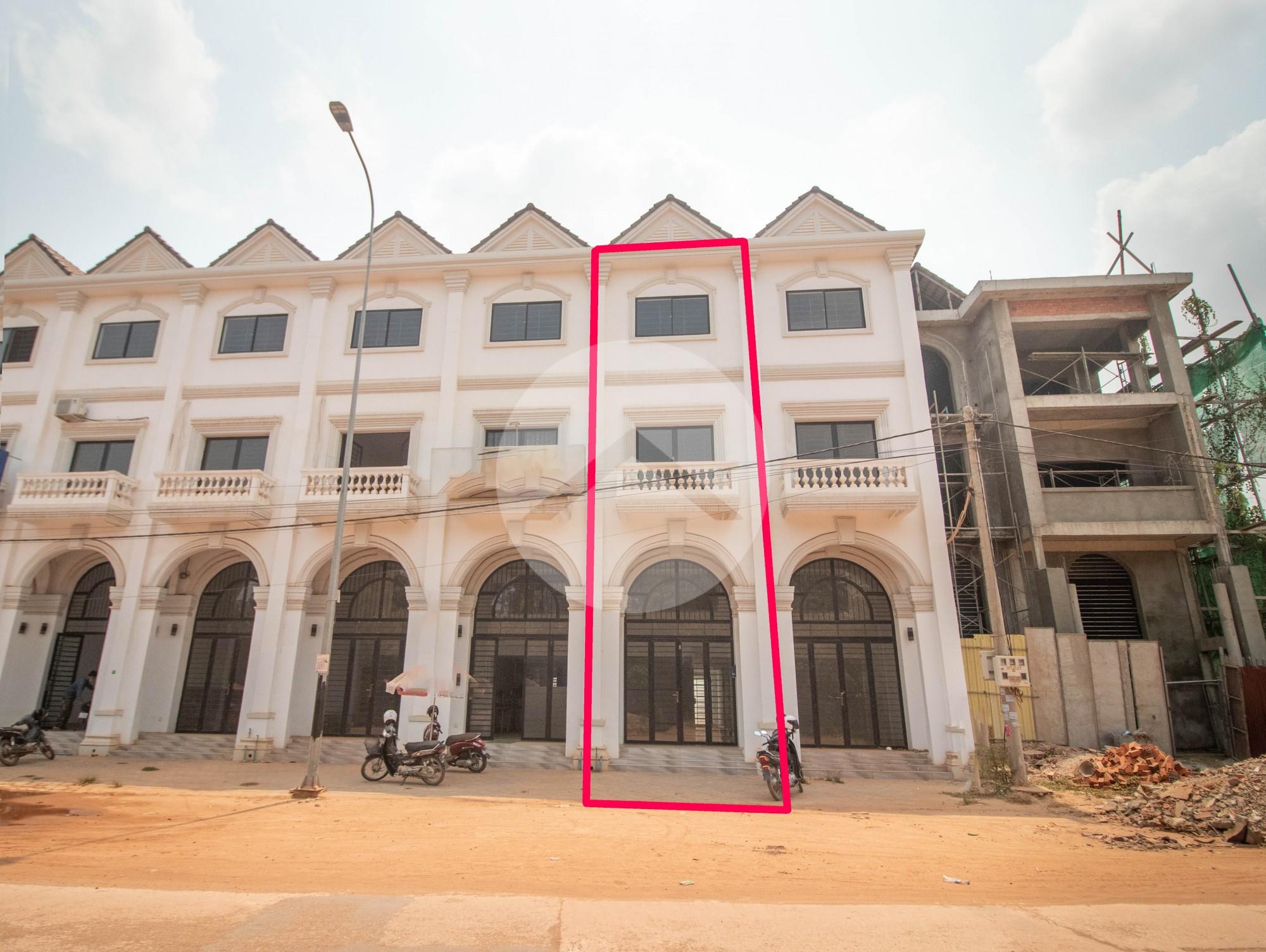 3 Bedroom Shophouse For Rent - Sala Kamreuk, Siem Reap