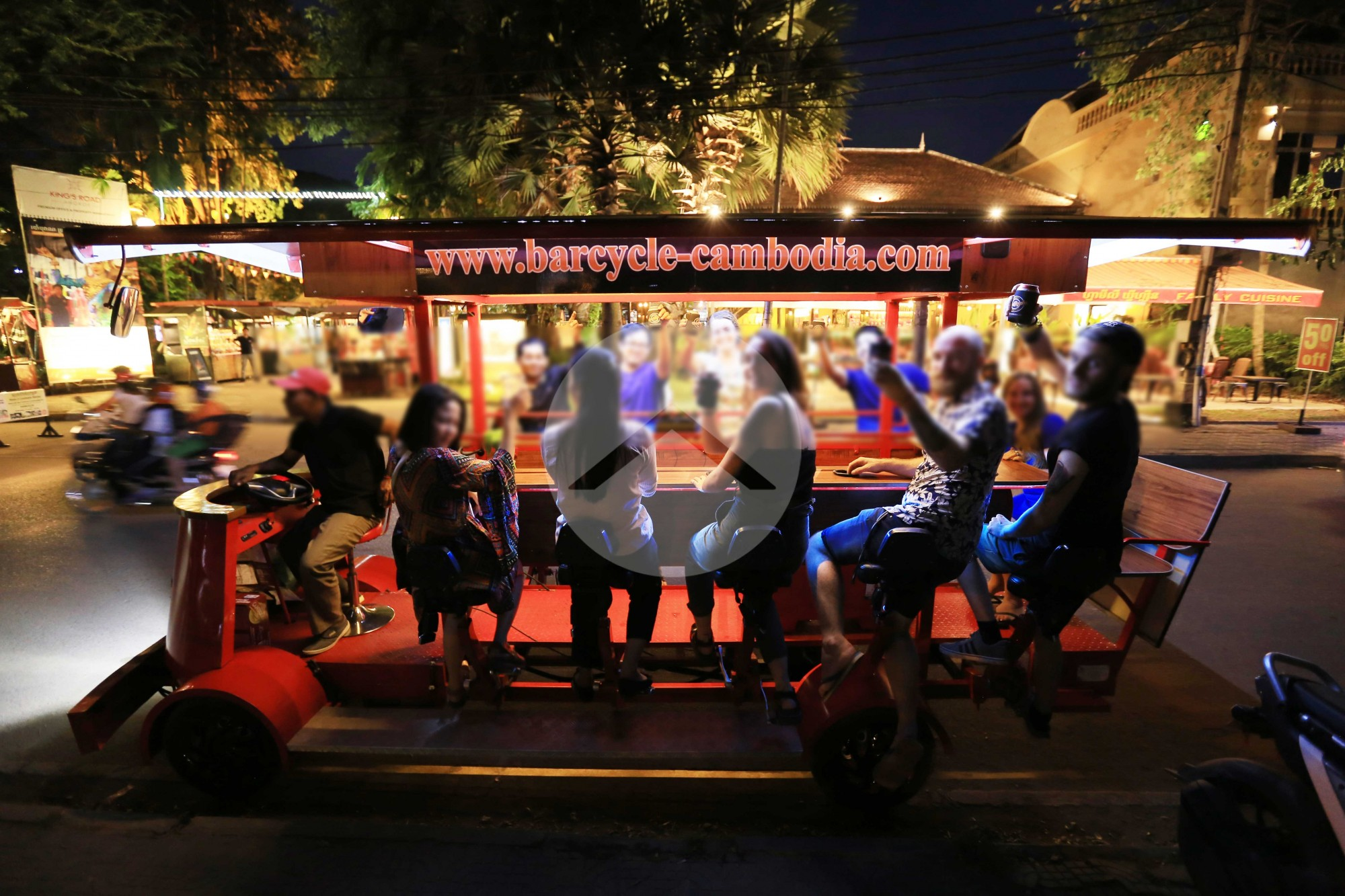 BarCycle Business For Sale - Sala Kamreuk, Siem Reap