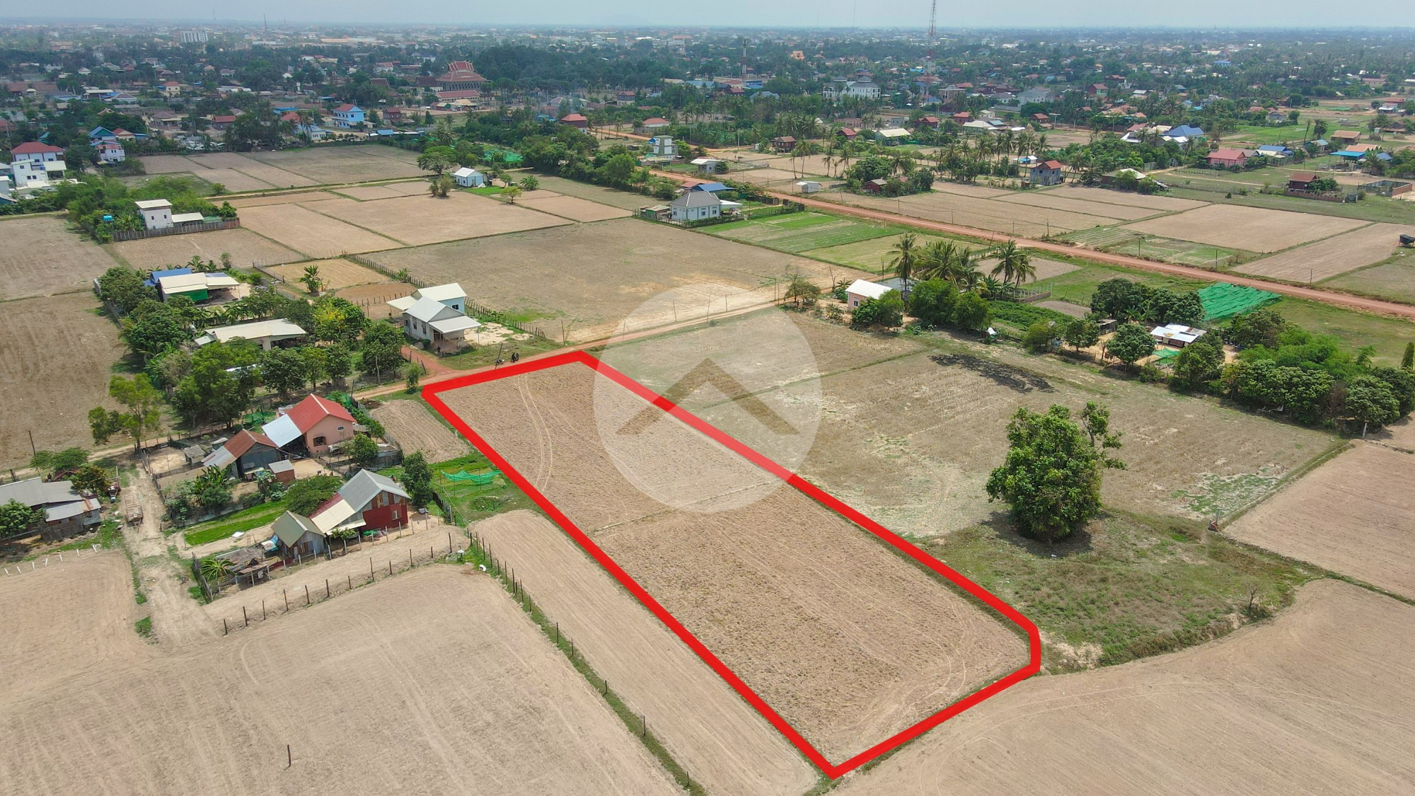 2801 Sqm Residential Land For Sale - Chreav, Siem Reap