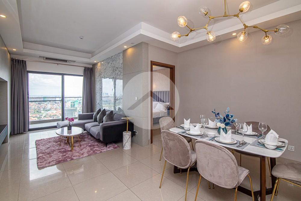2 Bedroom Condo For Rent - Toul Kork, Phnom Penh