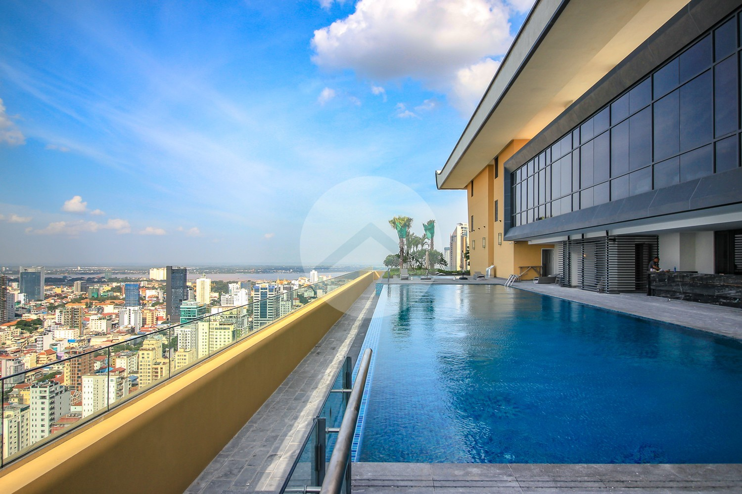 2 Bedroom Serviced Apartment For Rent - Olympic, Phnom Penh