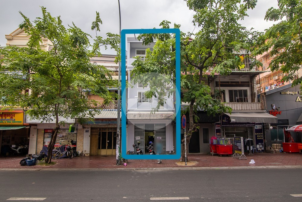 5 Bedroom Flat House For Rent - Daun Penh, Phnom Penh