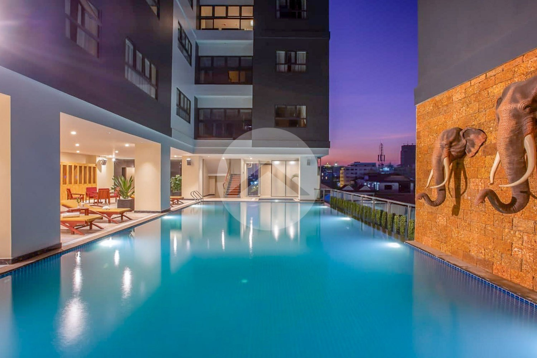 2 Bedroom Apartment For Rent -Daun Penh, Phnom Penh