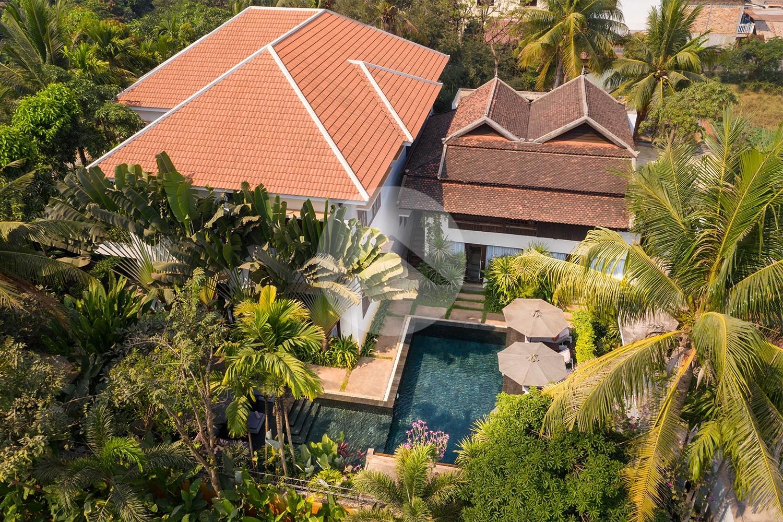 13 Bedroom Boutique Villa Compound For Sale - Kouk Chak, Siem Reap
