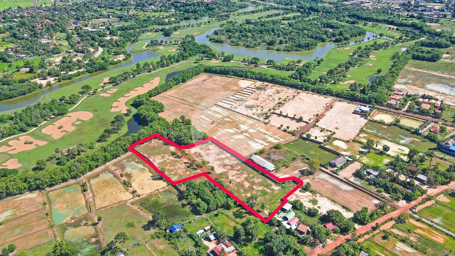 1 Hectare Land For Sale - Svay Dangkum, Siem Reap
