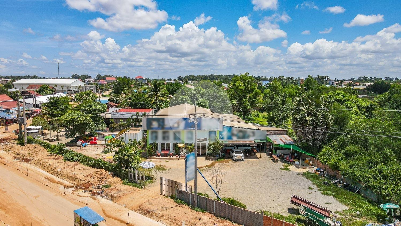 2400 Sqm Commercial Land For Rent - Slor Kram, Siem Reap