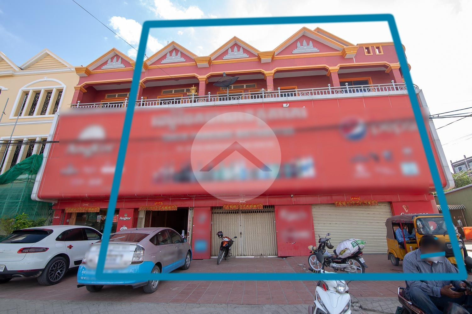 3 Shophouses For Rent - Takeo Province