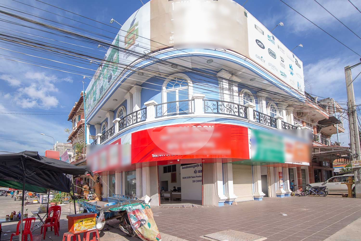 400 Sqm Commercial Property Corner For Rent - Takeo Province, Cambodia