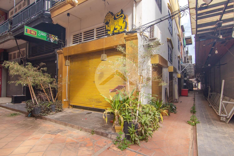 64 Sqm Commercial Building For Sale - Old Market  Pub Street, Siem Reap
