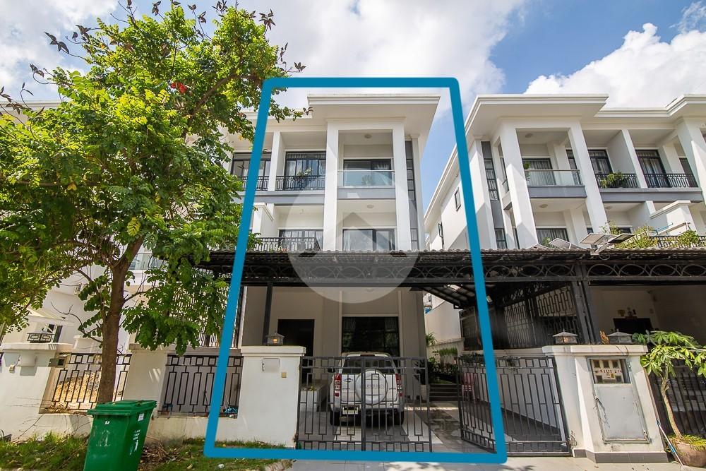 4 Bedroom Villa For Rent - Chak Angrae Kraom, Phnom Penh