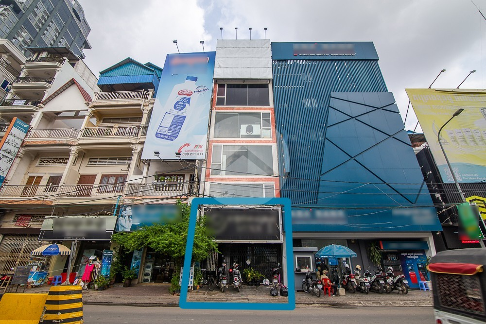 64 Sqm Commercial Space For Rent - Chamkarmorn, Phnom Penh
