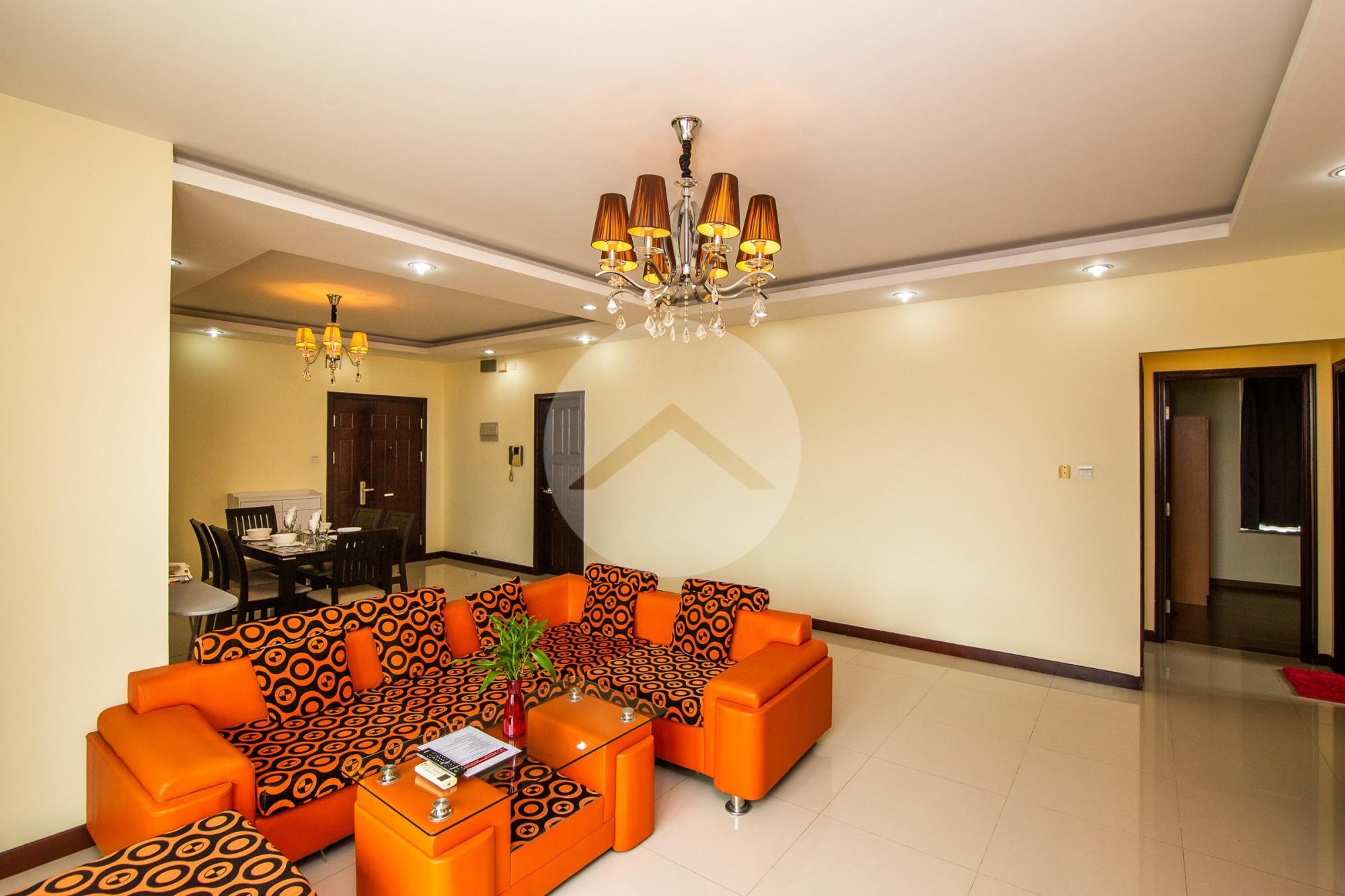 3 Bedroom Condo For Rent - Chamkarmorn, Phnom Penh