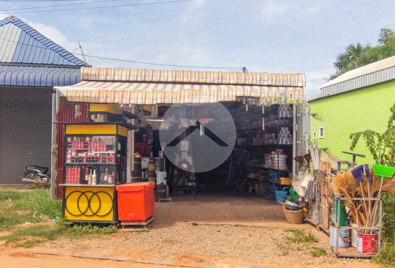 125 Sqm Retail Space For Sale - Slor Kram, Siem Reap