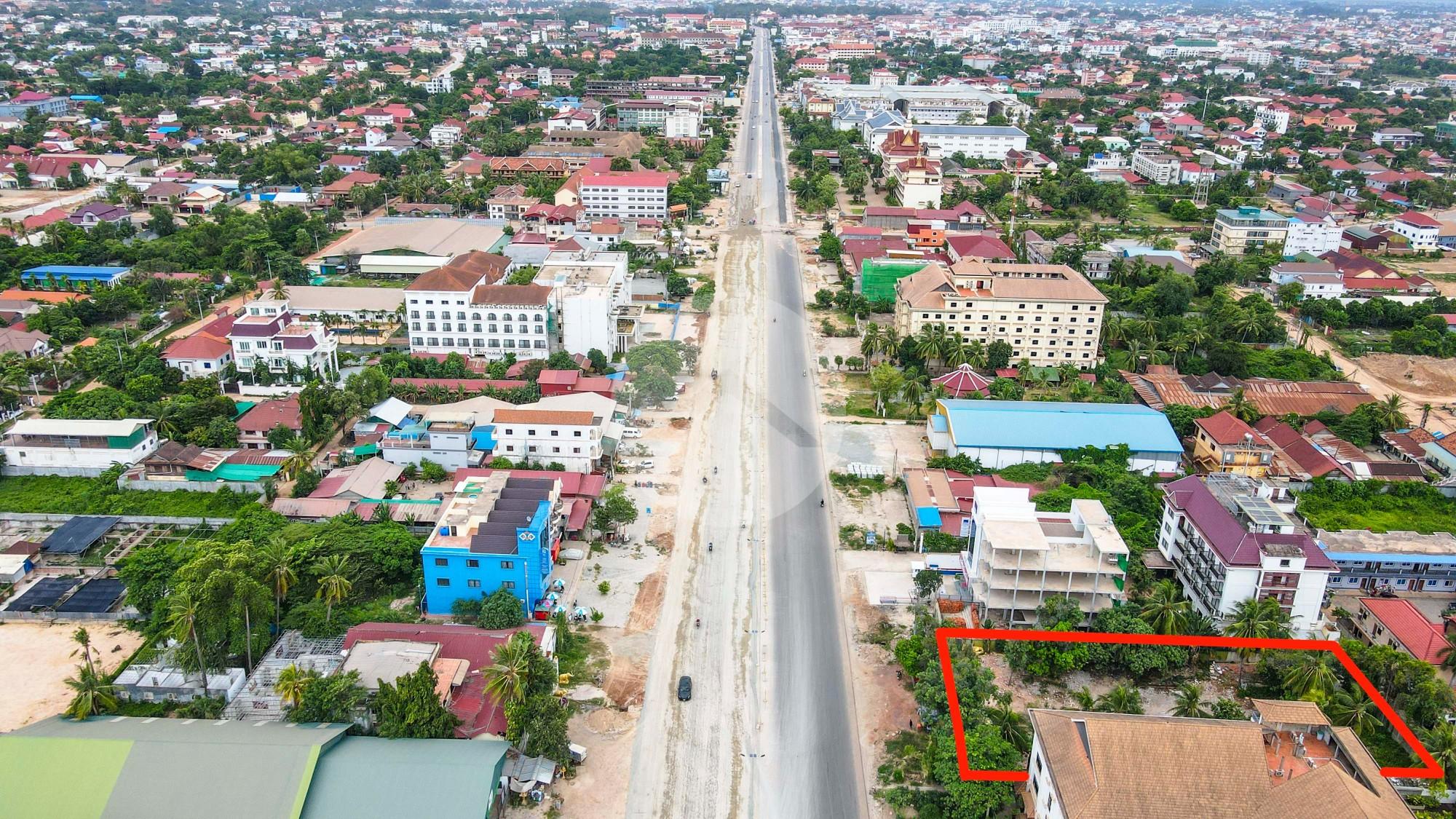 1825 sqm Land For Sale - Svay Dangkum, Siem Reap