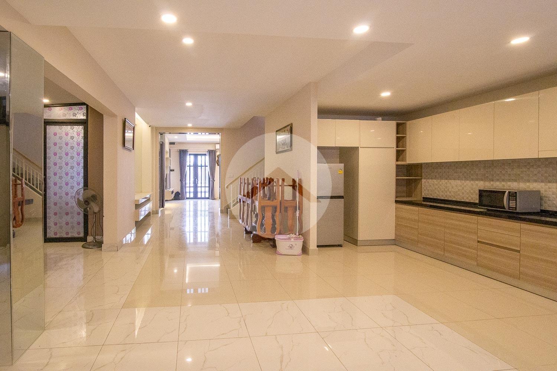 5 Bedroom Twin Villa For Rent - Hun Sen BLVD,  Phnom Penh