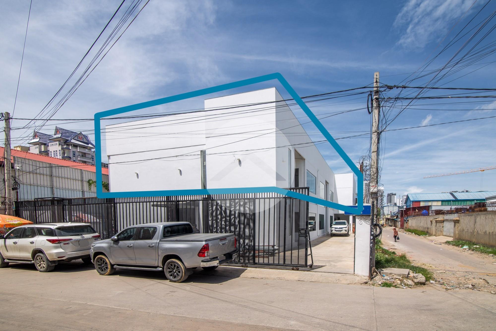 370 Sqm Commercial Space For Rent - Toul Tum Poung 1, Phnom Penh