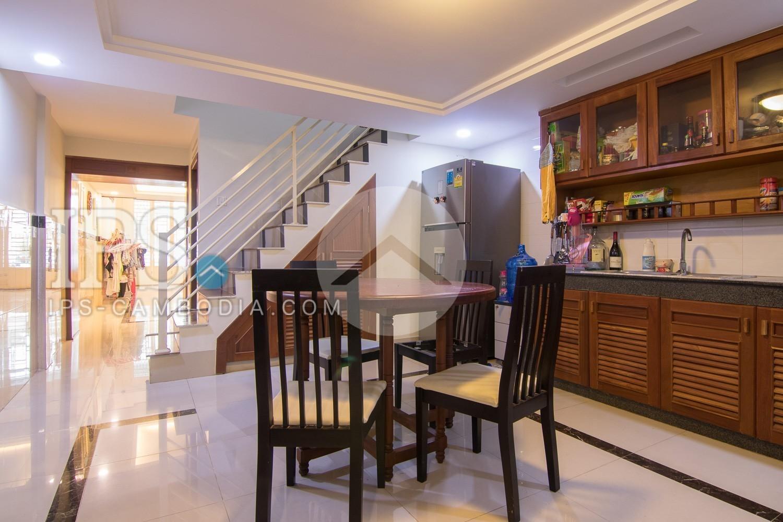 4 Bedroom Flat House For Rent - Sen Sok, Phnom Penh