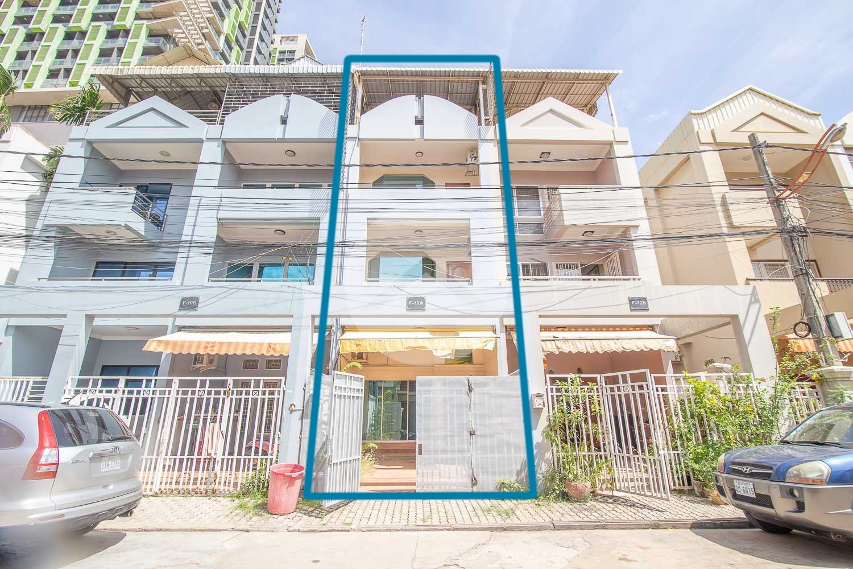 4 Bedroom Flat House For Sale - Chamkarmorn , Phnom Penh
