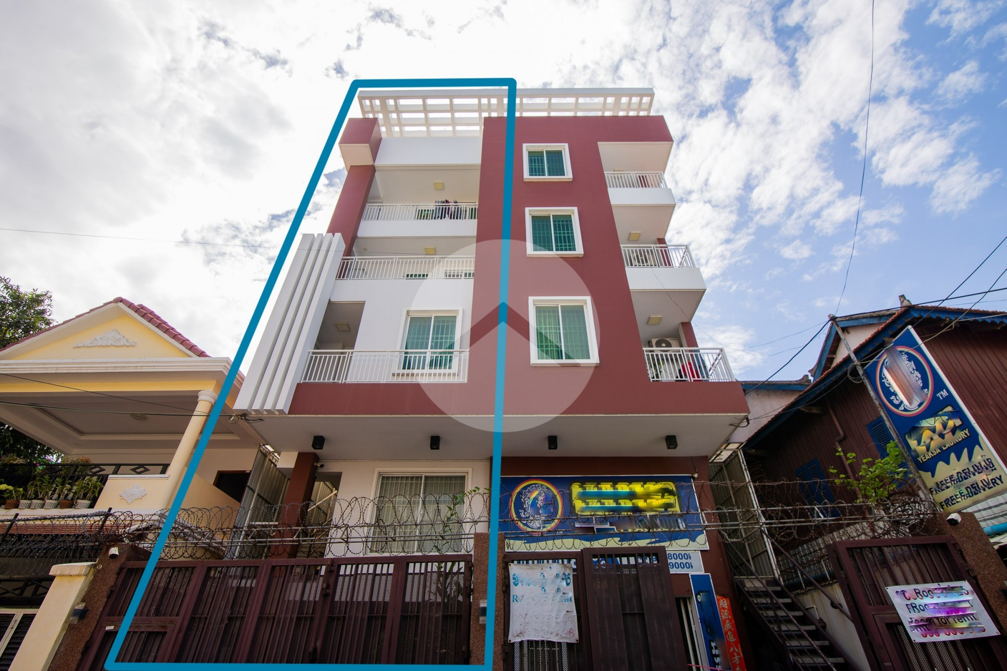 4 Storeys Shophouse For Sale - Stung Meanchey, Phnom Penh