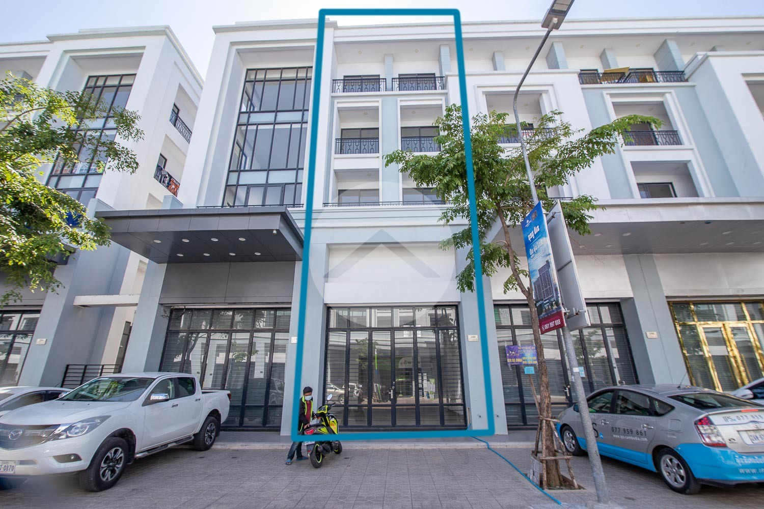 4 Bedroom Shophouse For Rent - Mean Chey, Phnom Penh