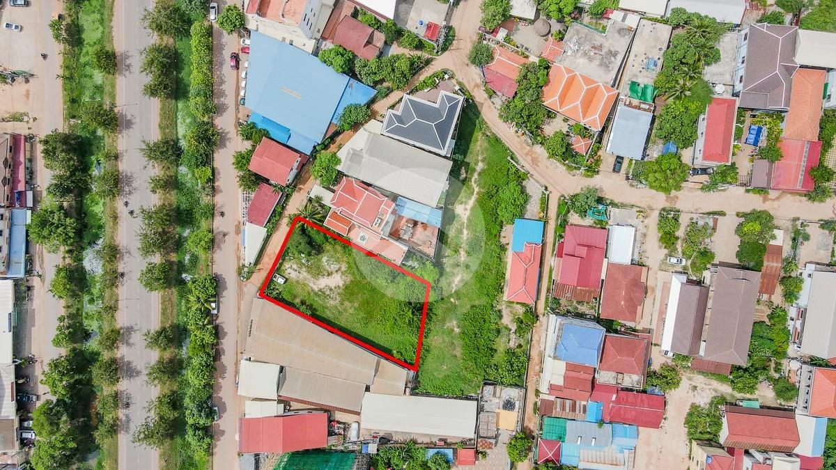 989 Sqm Commercial Land For Sale - Slor Kram, Siem Reap