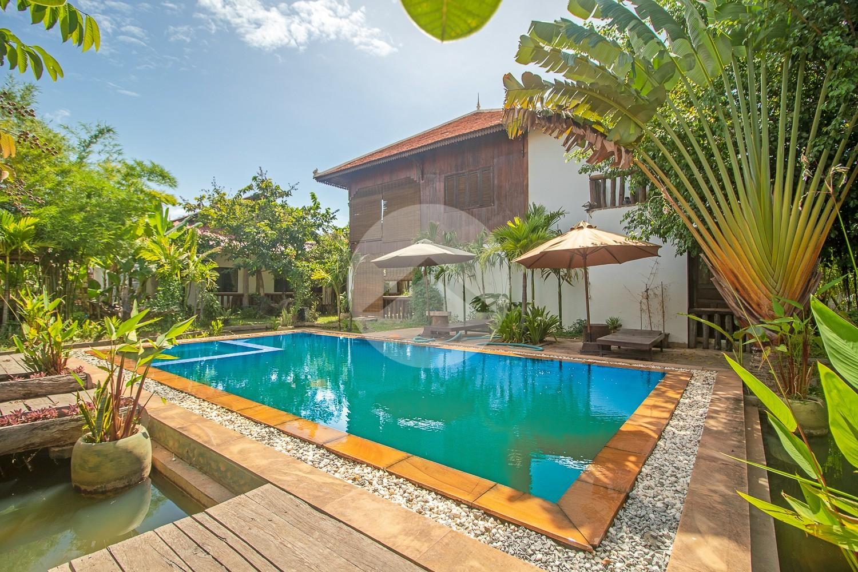 12 Bedroom Boutique Hotel For Rent - Svay Dangkum, Siem Reap