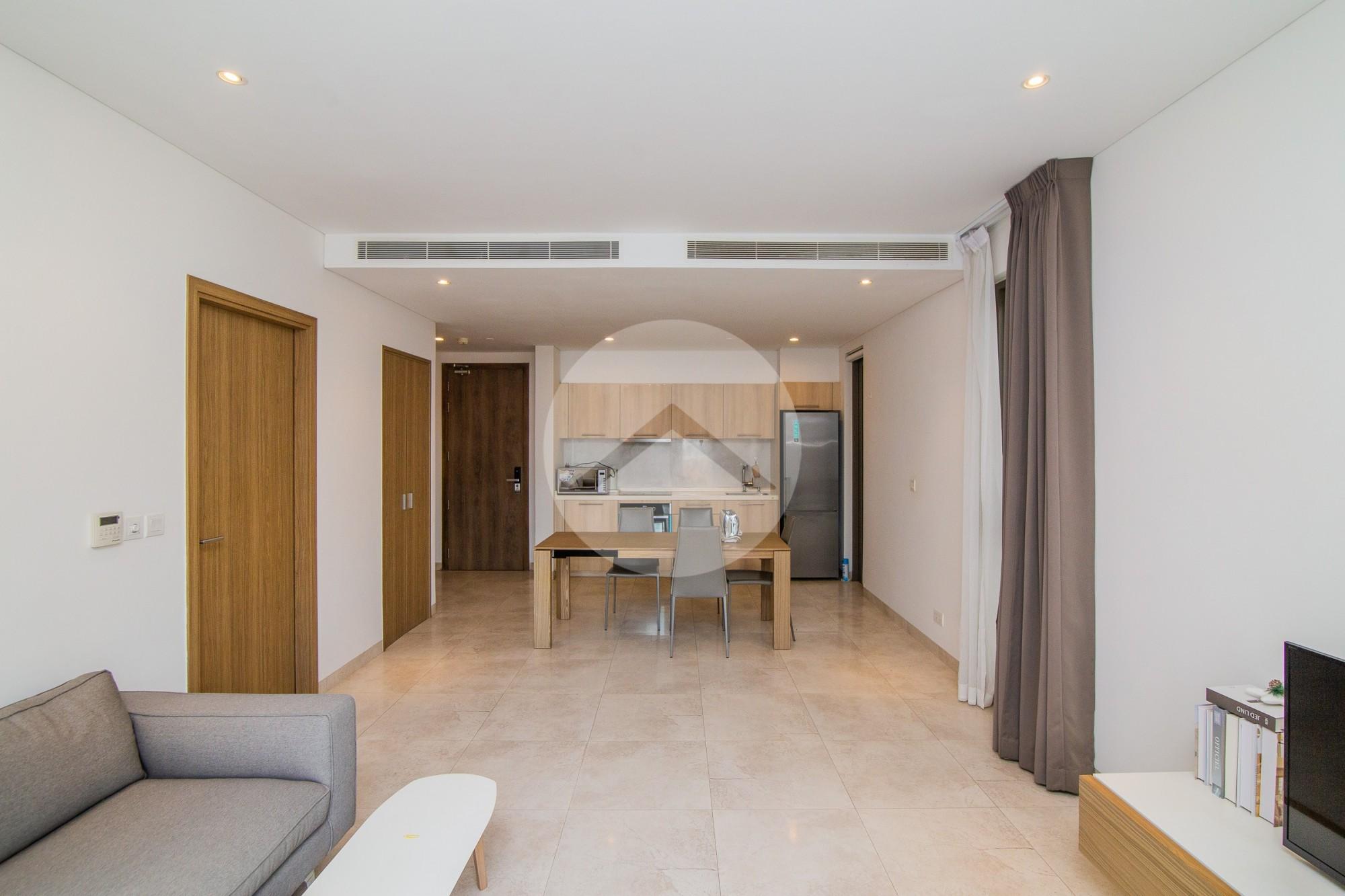 1 Bedroom Condo For Rent - Tonle Bassac, Phnom Penh
