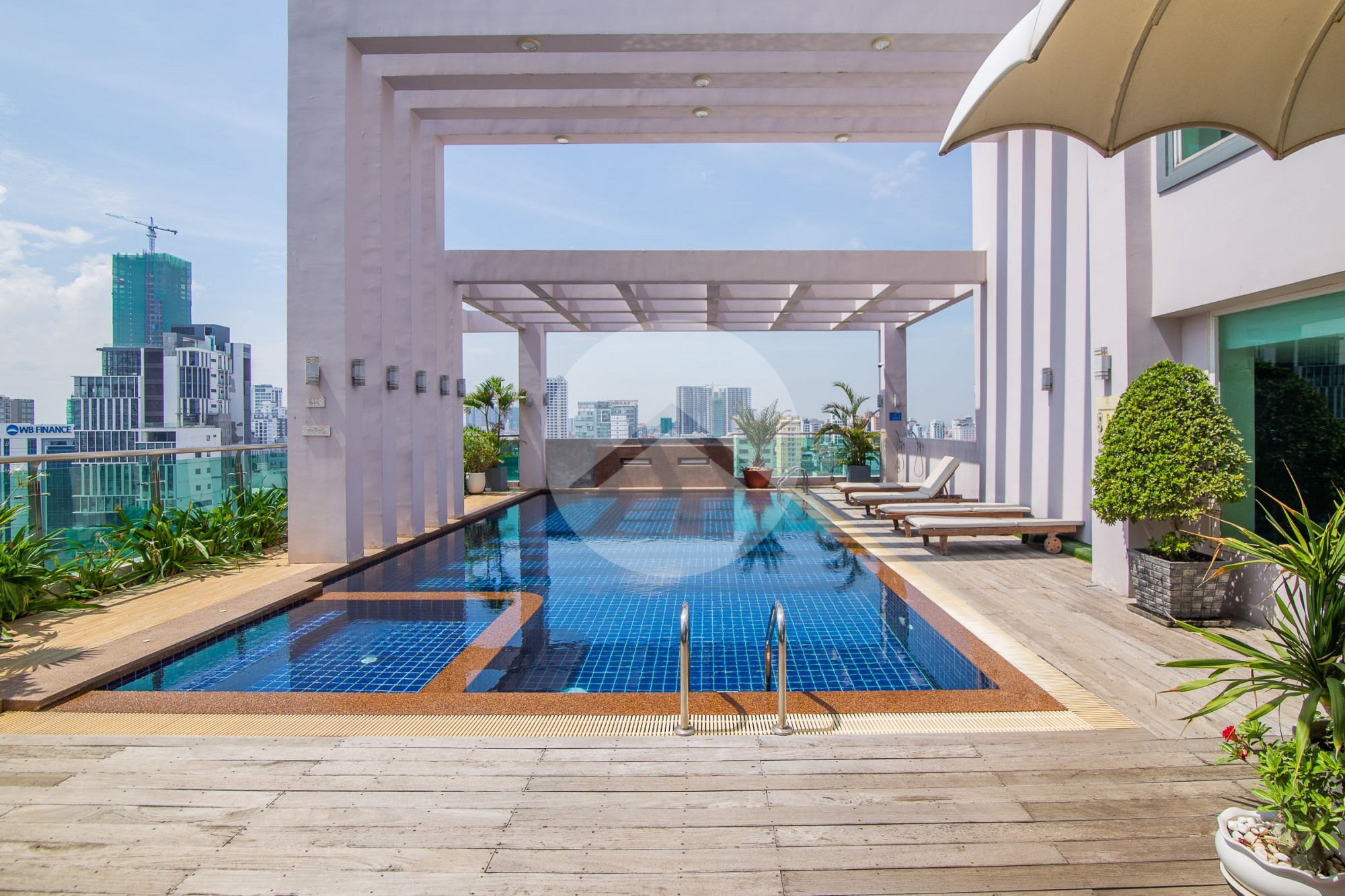 2 Bedroom Serviced Apartment For Rent - BKK3, Phnom Penh