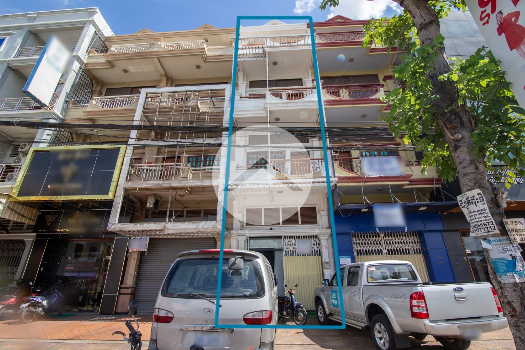 7 Bedroom Flat For Rent - Boeung Salang, Phnom Penh