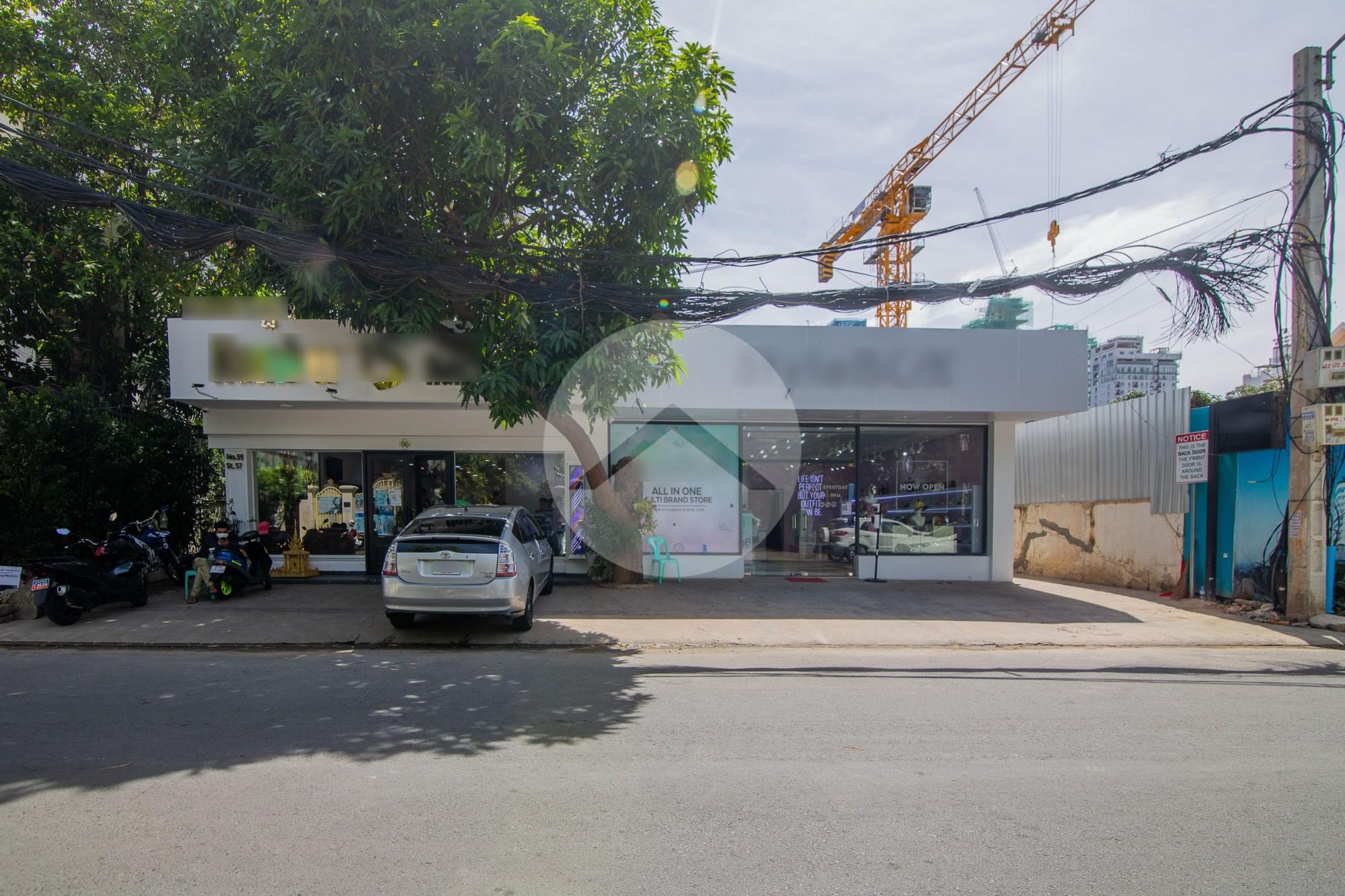 80 Sqm Commercial Space For Rent - BKK1, Phnom Penh