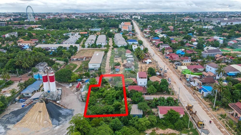 1163 Sqm Residential Land For Sale - Sra Ngae, Siem Reap
