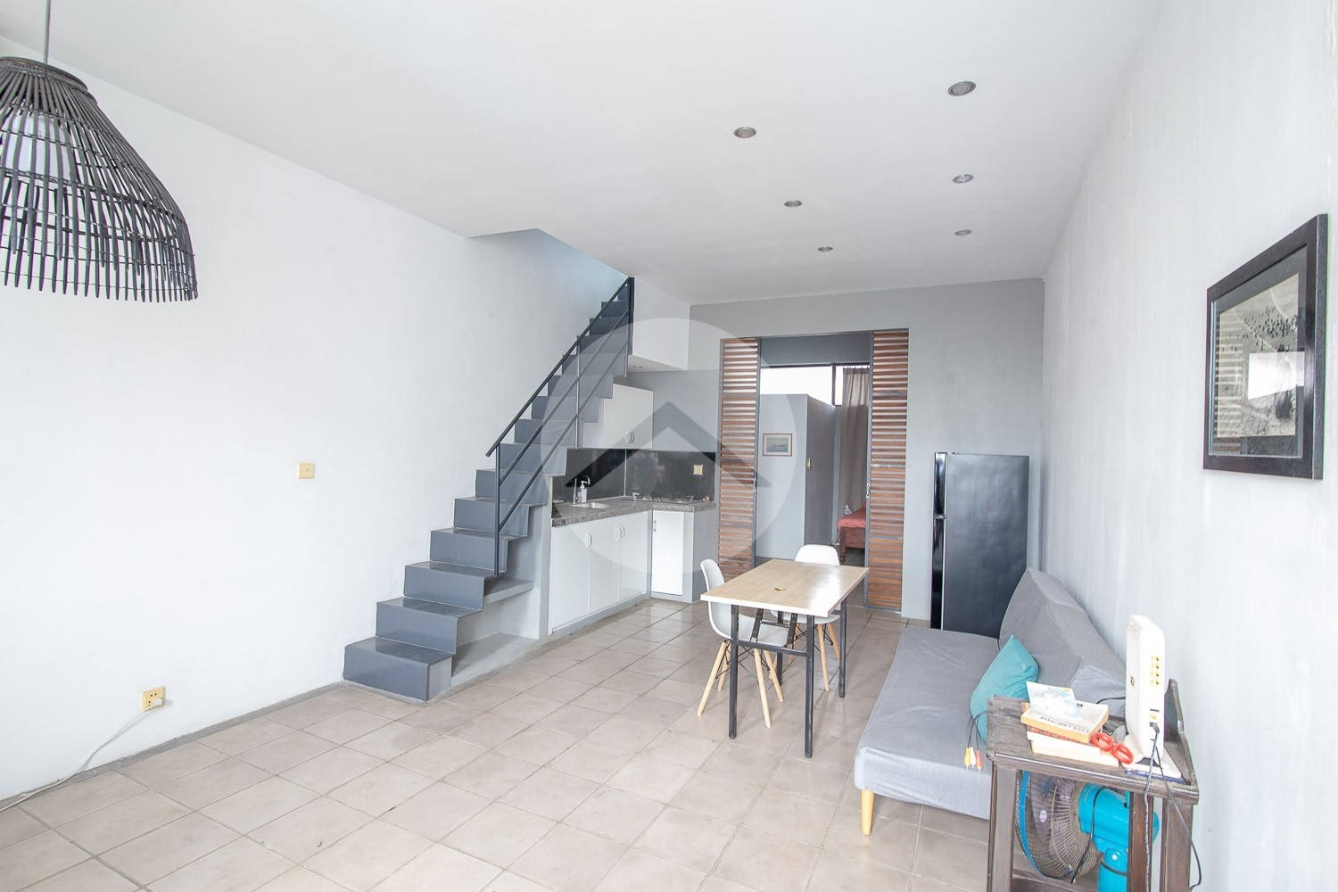 2 Bedroom Renovated House For Rent - Sangkat Olympic, Phnom Penh.