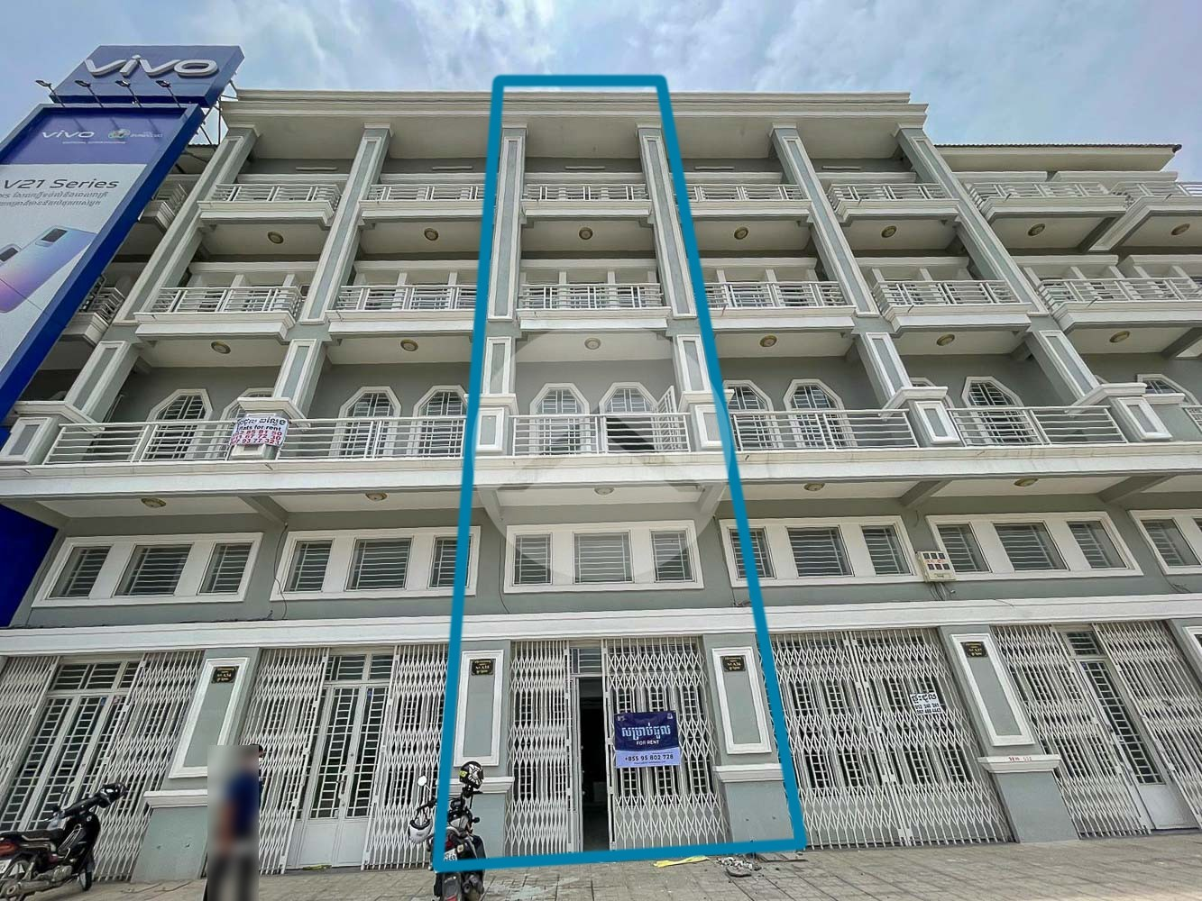 7 Bedroom Shophouse For Rent - Prey Sar, Phnom Penh