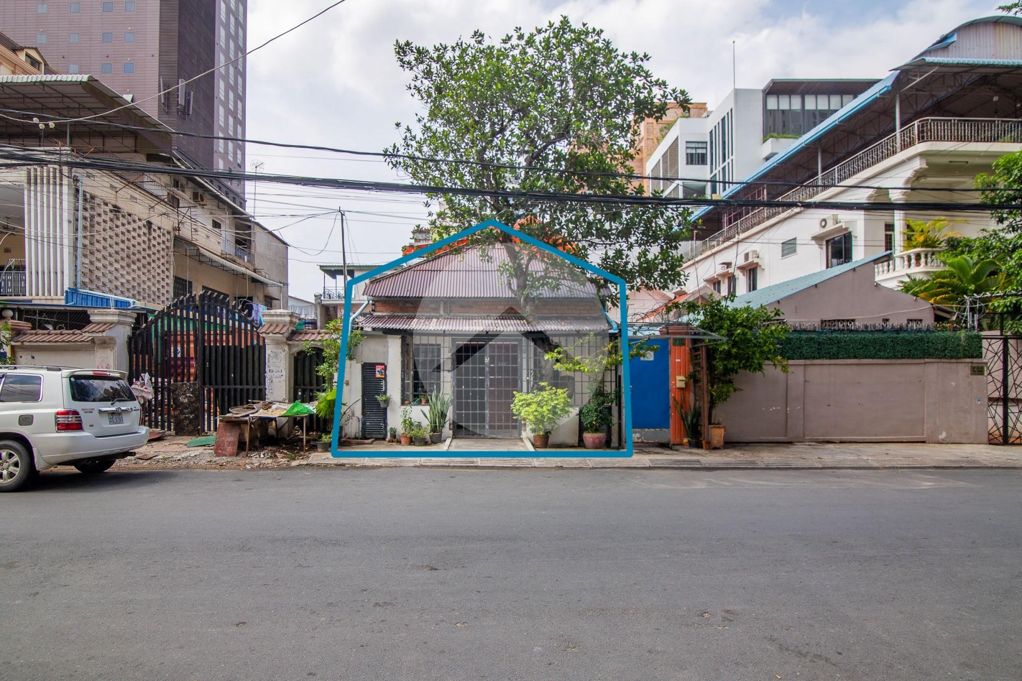 113 Sqm Retail Space For Rent - BKK1, Phnom Penh