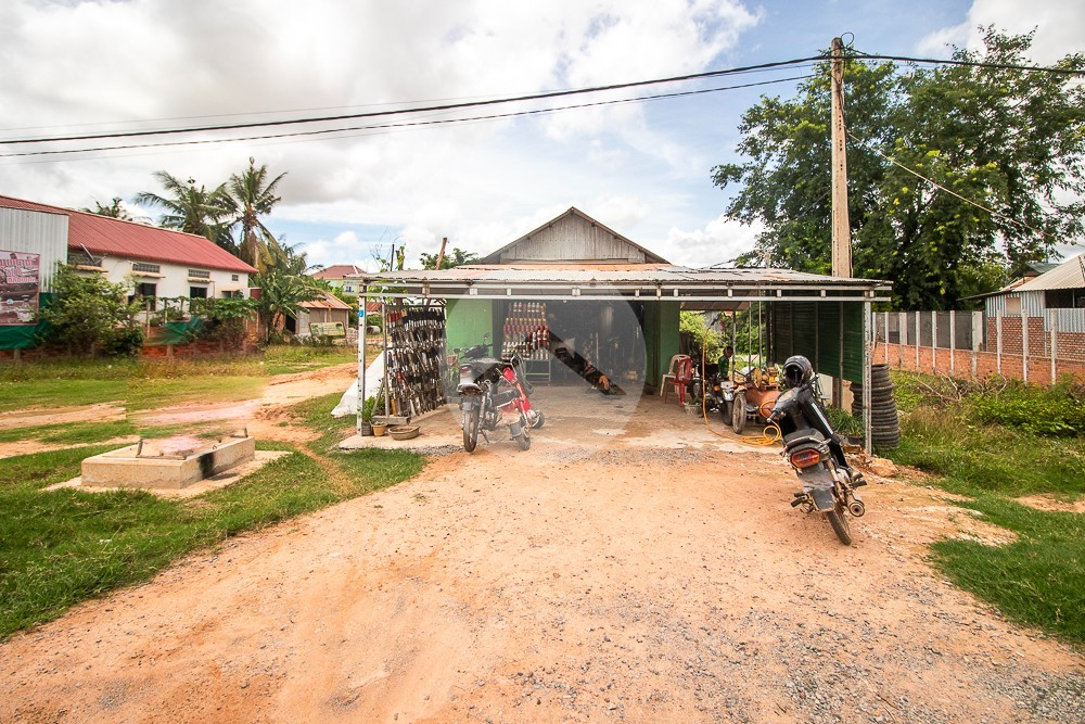 146 Sqm Residential Land For Sale - Sambour, Siem Reap
