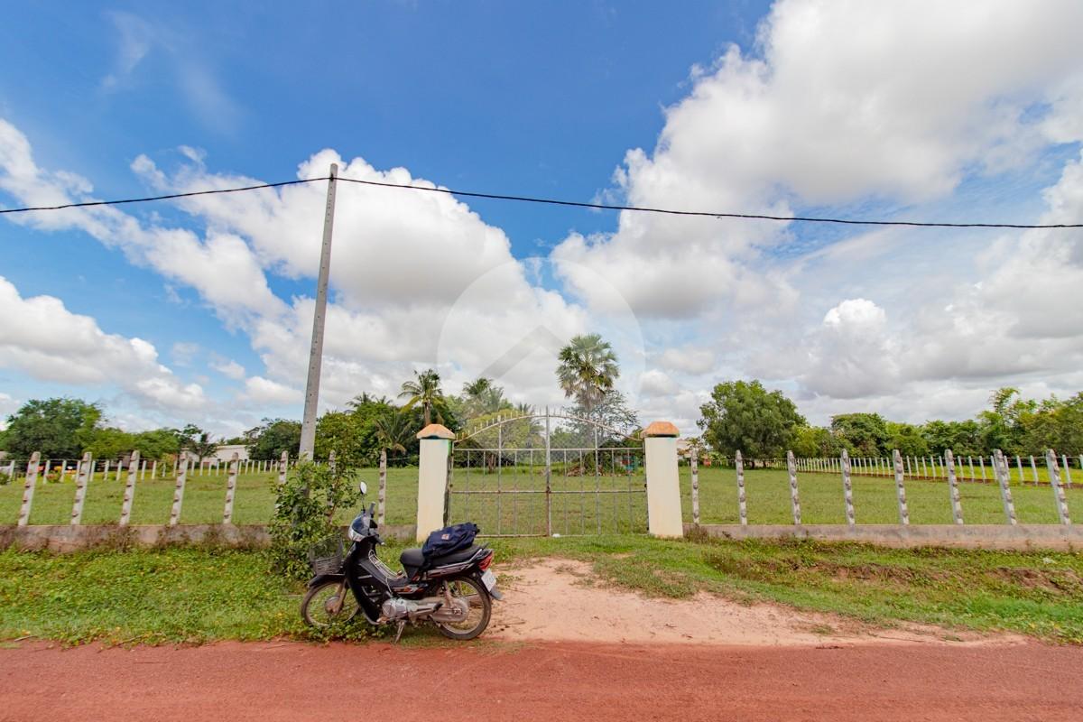 4500 Sqm Residential Land For Sale - Kandaek, Siem Reap