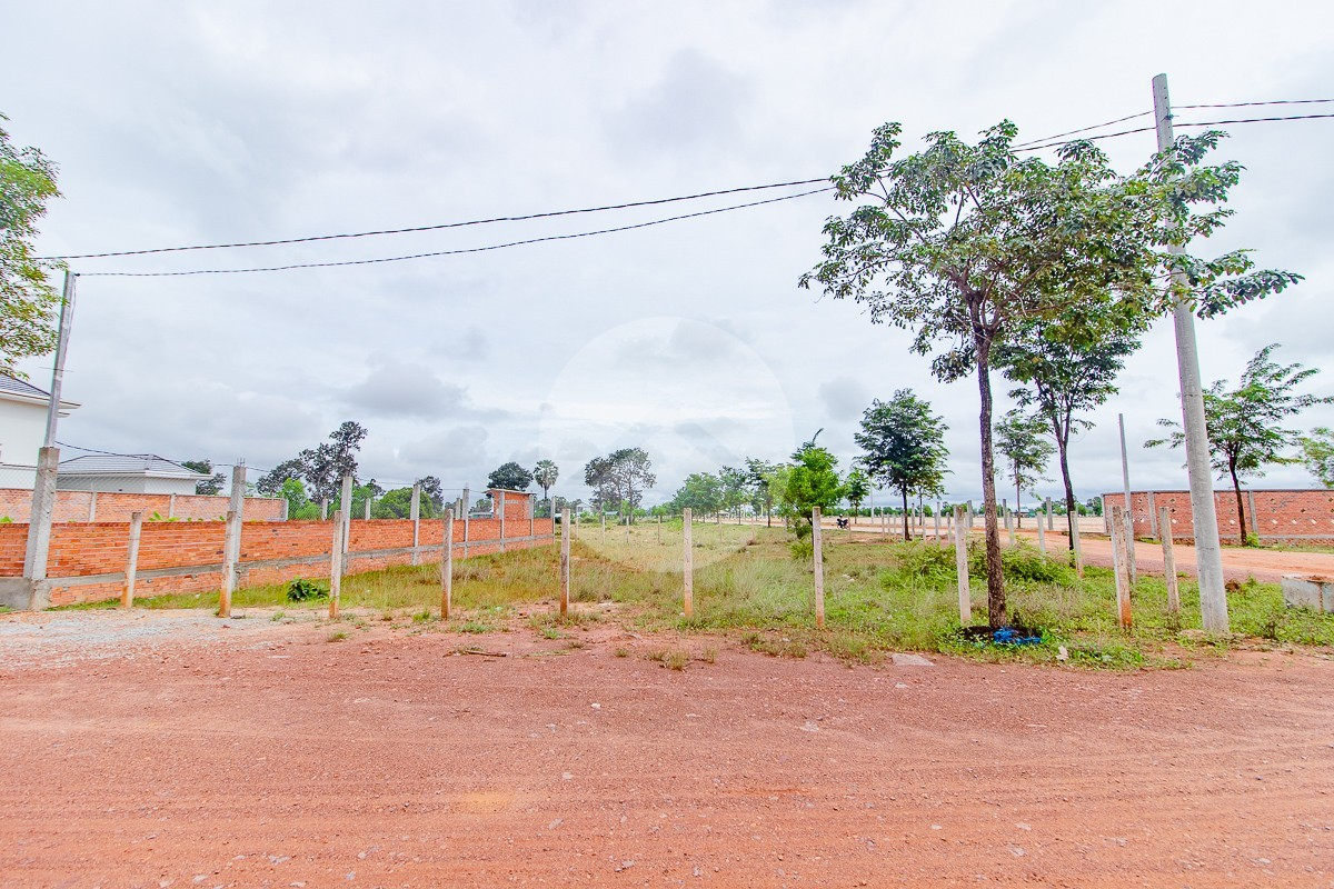 630 Sqm Residential Land For Sale - Road 60, Siem Reap