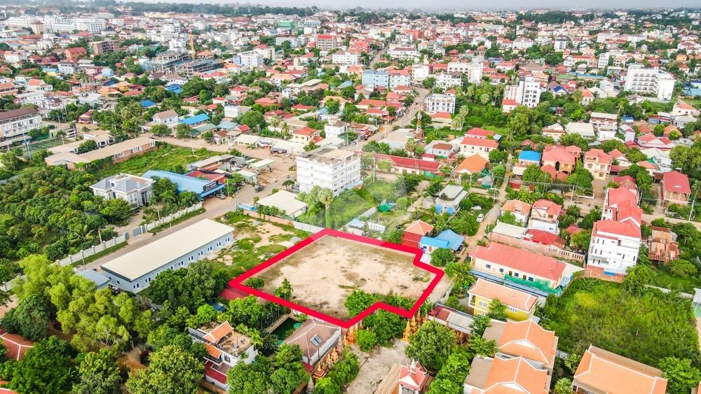 2000 Sqm Residential Land For Sale - Svay Dangkum, Siem Reap