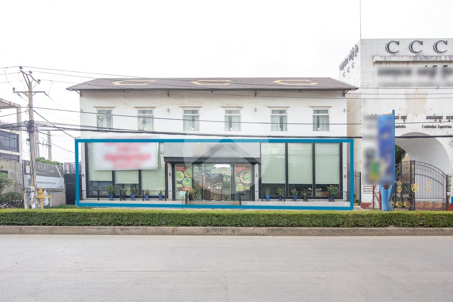 170 Sqm Retail Space For Rent - Teuk Thla, Phnom Penh