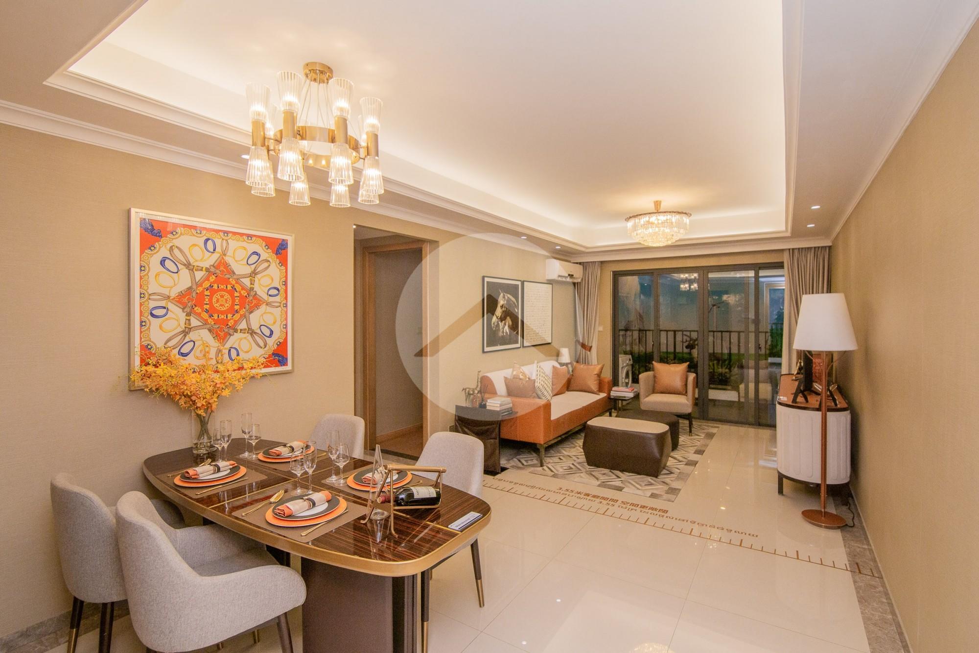 3 Bedroom Condominium For Sale - Hun Sen Blvd, Phnom Penh