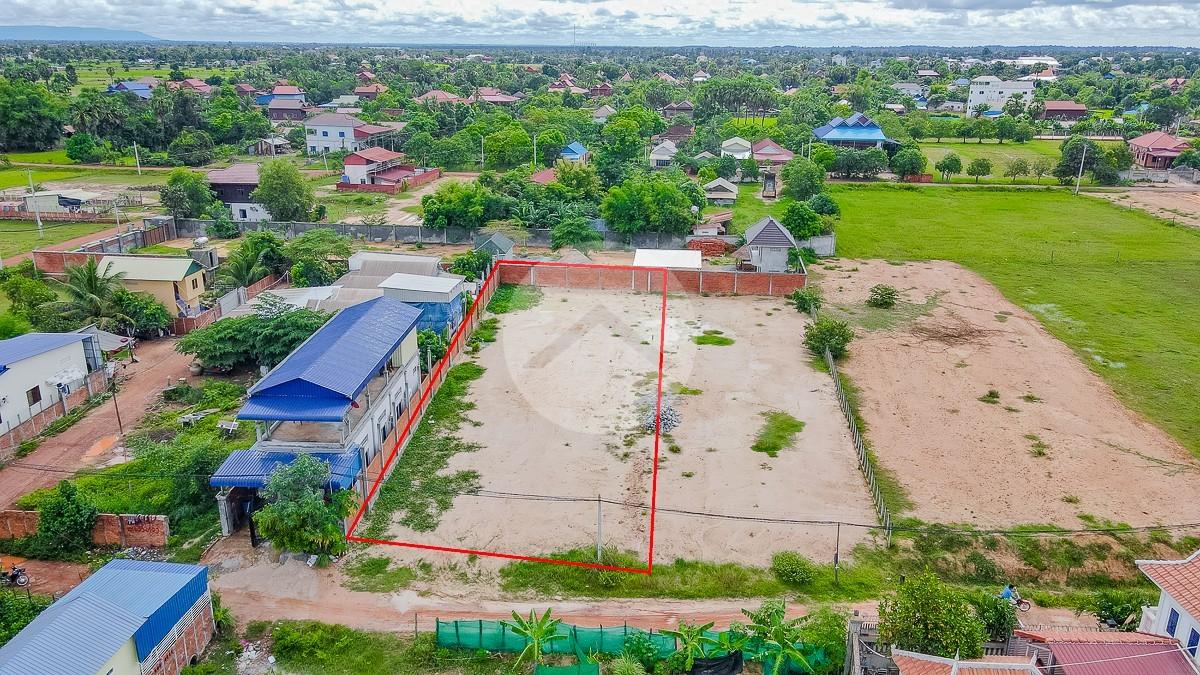 879 Sqm Residential Land For Sale - Slor Kram, Siem Reap