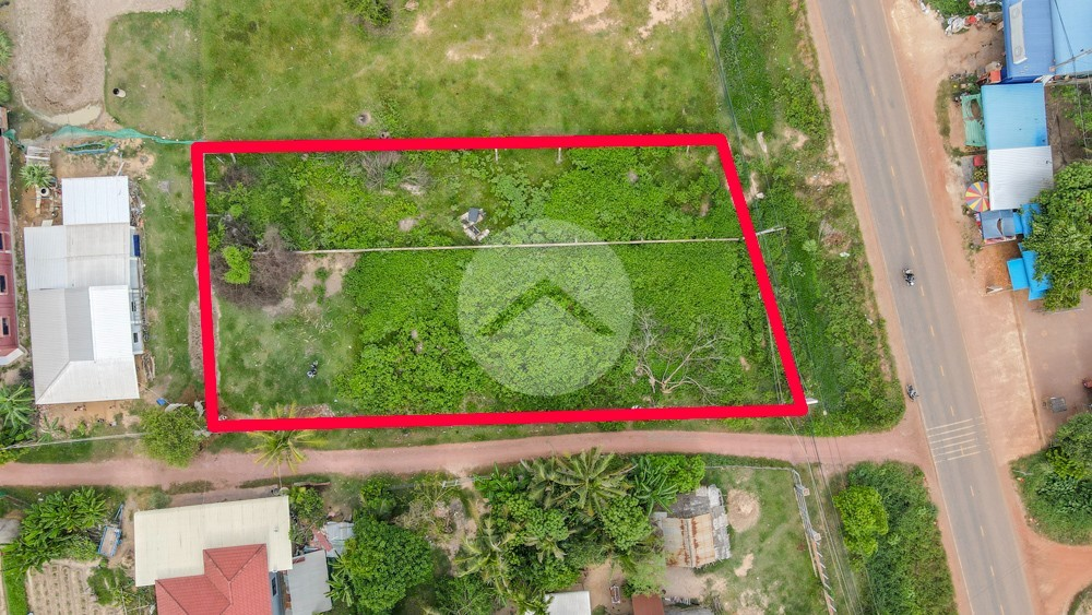 1486 Sqm Land For Sale - Chreav, Siem Reap