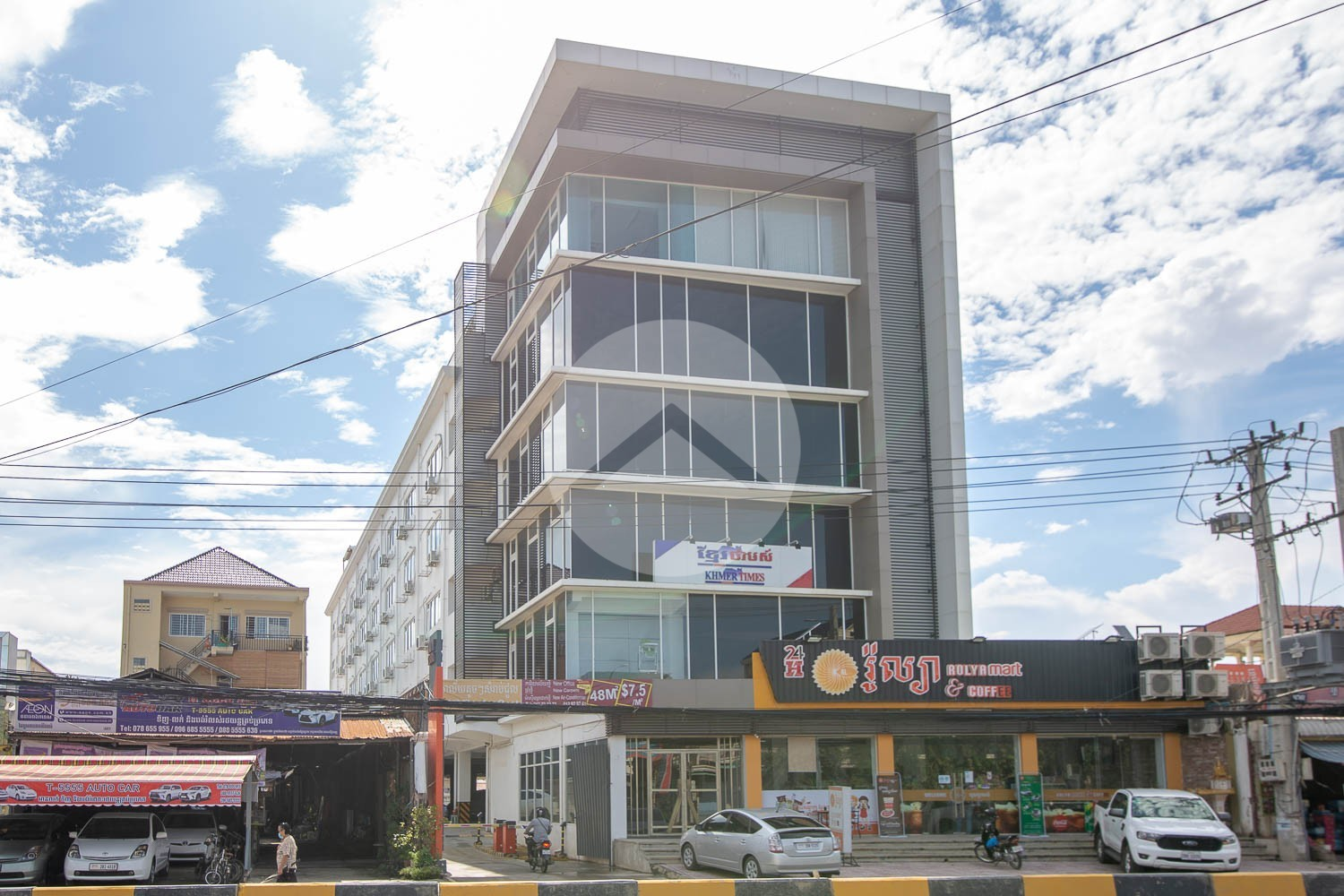 95 Sqm Commercial Office For Rent - Chak Angrea Area, Phnom Penh