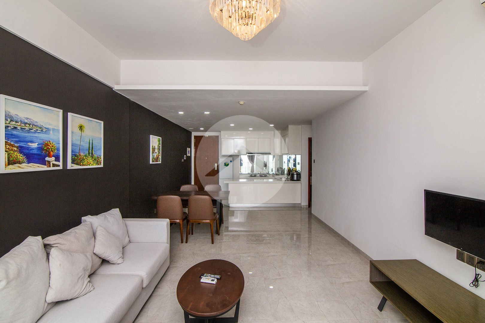2 Bedroom Condo For Rent - East One, Phnom Penh