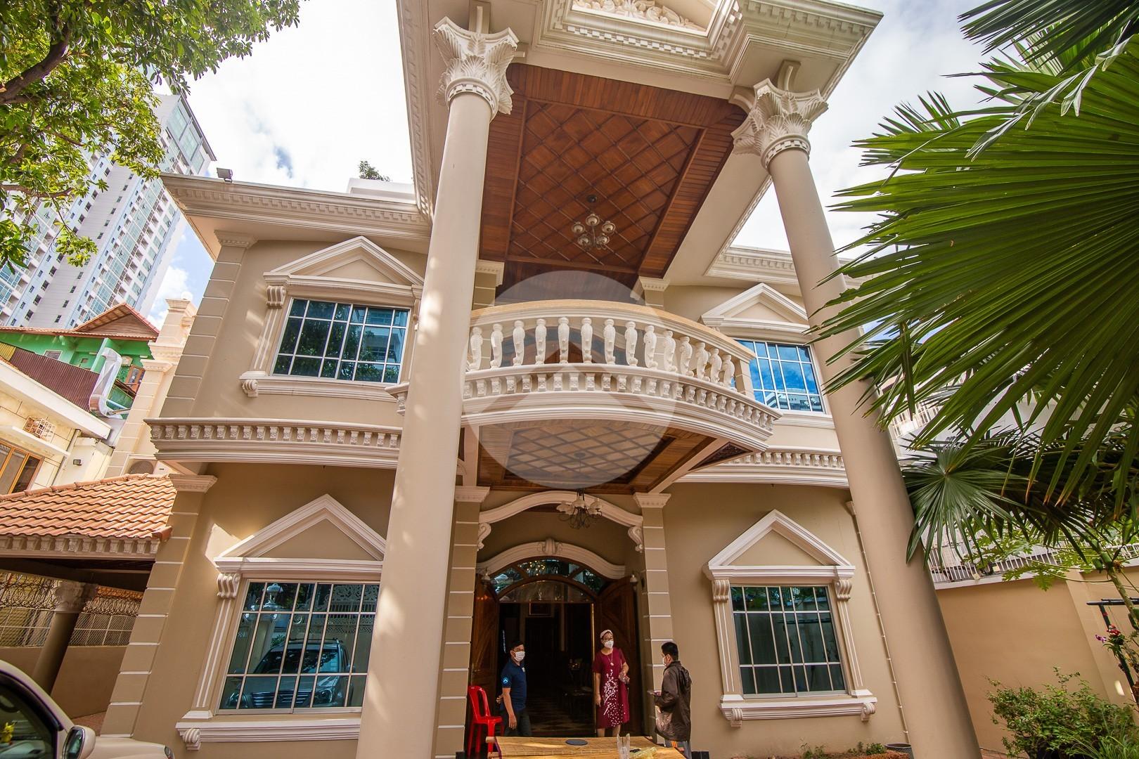 7 Bedroom Villa For Rent - BKK1, Phnom Penh