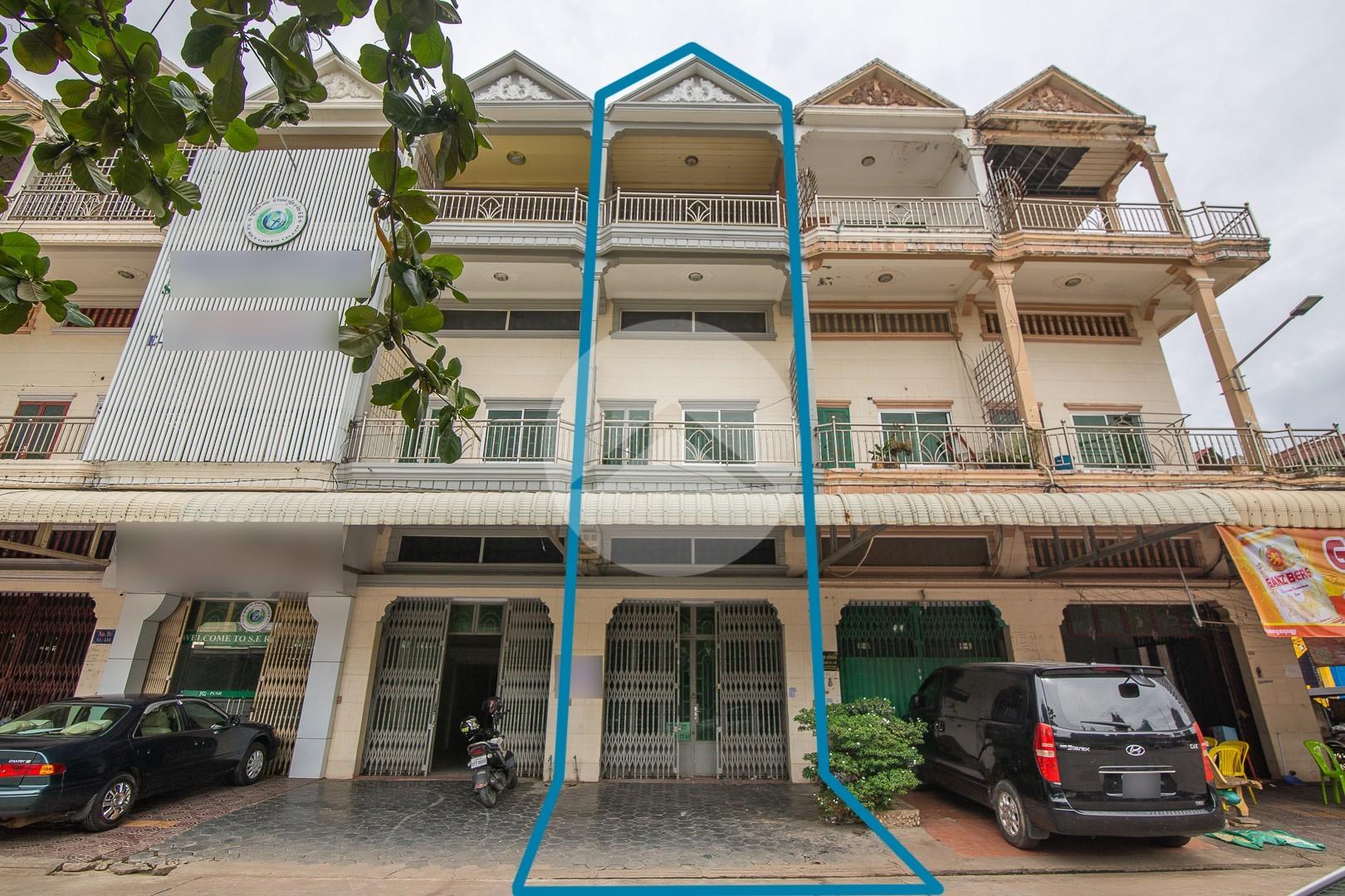 6 Bedroom Flat House For Sale - Toul Kork, Phnom Penh