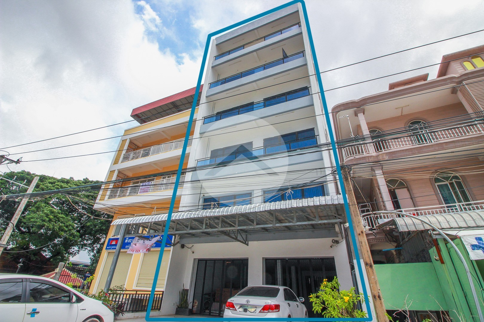6 Storey Building For Rent - Nirouth, Phnom Penh